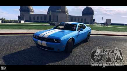 Dodge Challenger 2015 for GTA 5