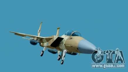 McDonnell Douglas F-15E Aggressor Desert for GTA San Andreas