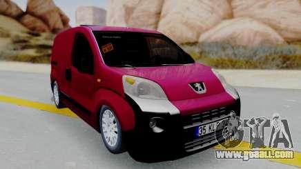 Peugeot Bipper for GTA San Andreas
