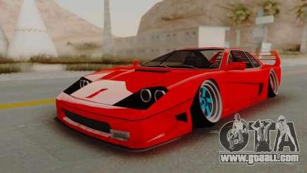 Turismo Saber X for GTA San Andreas