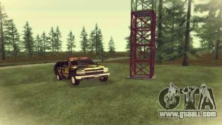 Chevrolet Suburban Camouflage for GTA San Andreas