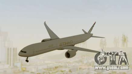 Boeing 777-9x Etihad Airways for GTA San Andreas