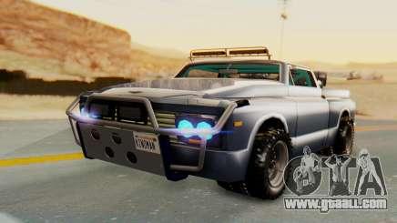 Slamvan v2.0 for GTA San Andreas