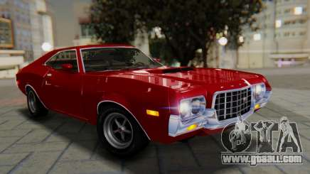 Ford Gran Torino Sport SportsRoof (63R) 1972 PJ1 for GTA San Andreas