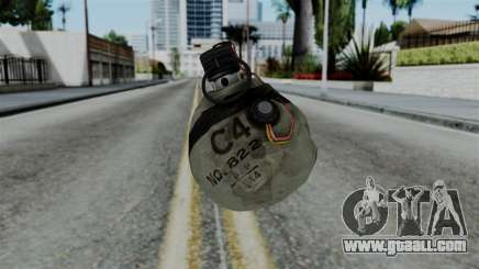 CoD Black Ops 2 - Semtex for GTA San Andreas