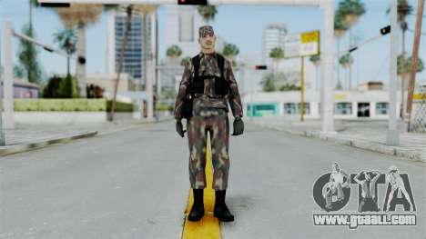 MH x Hungarian Army Skin for GTA San Andreas second screenshot