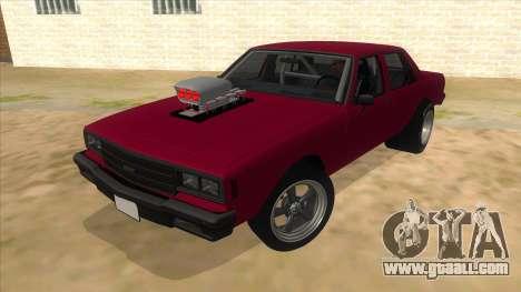1984 Chevrolet Impala Drag for GTA San Andreas