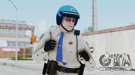 GTA 5 Cop-Biker for GTA San Andreas