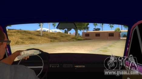 VAZ 2101 kopek for GTA San Andreas inner view