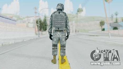 Acu Soldier Balaclava v1 for GTA San Andreas third screenshot