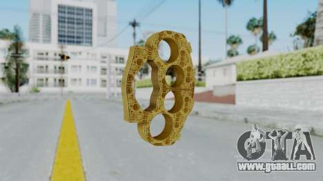 The Lover Knuckle Dusters from Ill GG Part 2 for GTA San Andreas second screenshot