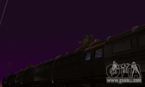 Batman Begins Monorail Train Vagon v1 for GTA San Andreas side view