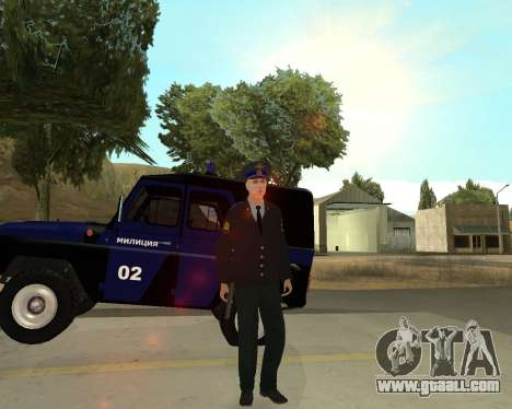 The Skin Is Sergei Glukharev for GTA San Andreas fifth screenshot