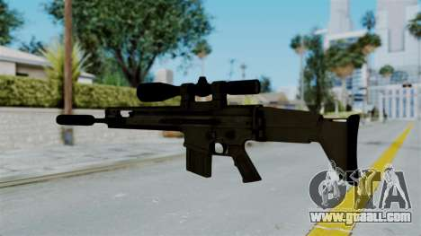 SCAR-20 v1 Supressor for GTA San Andreas second screenshot