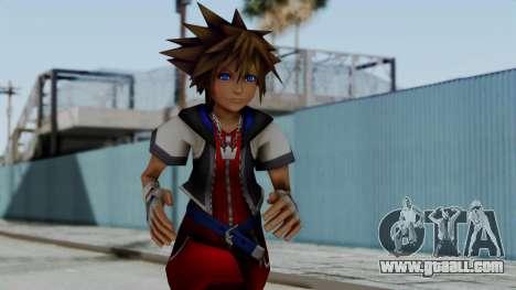 Kingdom Hearts 2 - Sora Early Costume Fix for GTA San Andreas