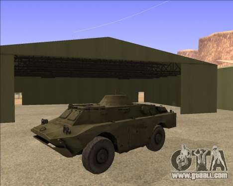 BRDM-2ЛД for GTA San Andreas back view