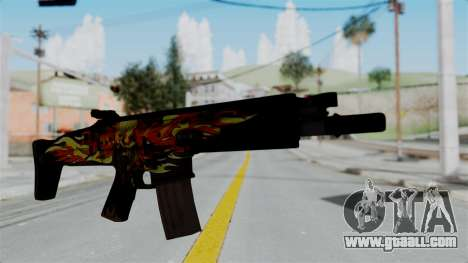 SCAR-L Extra PJ for GTA San Andreas