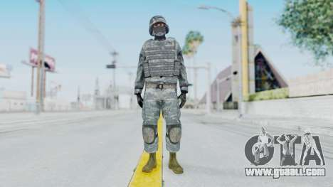 Acu Soldier Balaclava v1 for GTA San Andreas second screenshot