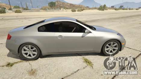 Infiniti G35 for GTA 5