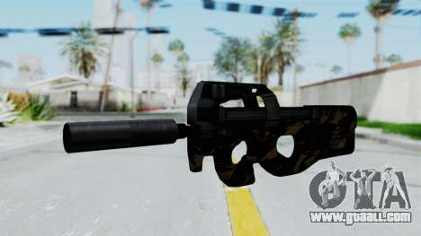 P90 Camo2 for GTA San Andreas