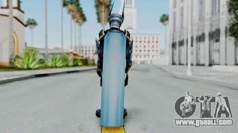 Kingdom Hearts BBS - Ventus Armored v1 for GTA San Andreas third screenshot