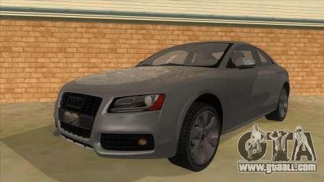 Audi S5 Sedan V8 for GTA San Andreas