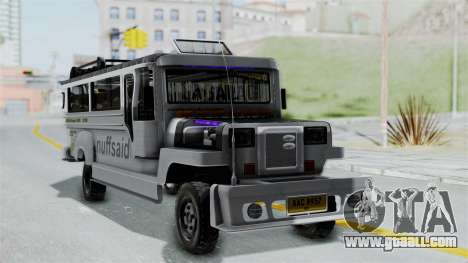 Jeepney Philippines for GTA San Andreas