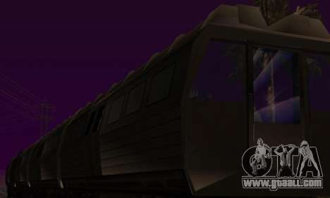 Batman Begins Monorail Train Vagon v1 for GTA San Andreas upper view