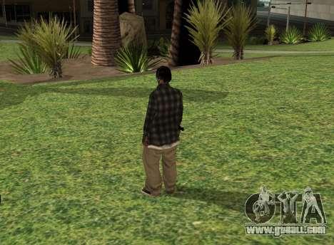 Black fam2 for GTA San Andreas second screenshot