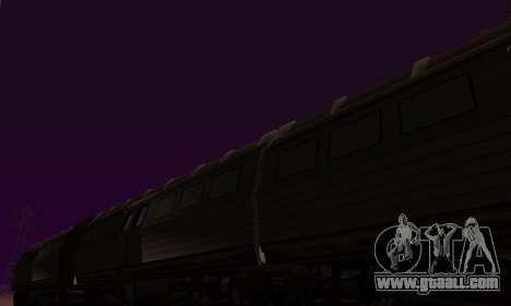 Batman Begins Monorail Train Vagon v1 for GTA San Andreas inner view
