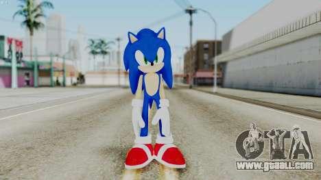 Sonic The Hedgehog 2006 for GTA San Andreas second screenshot