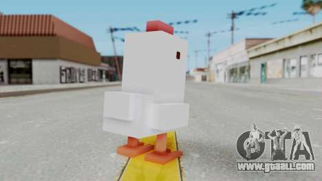 Crossy Road - Chicken for GTA San Andreas third screenshot