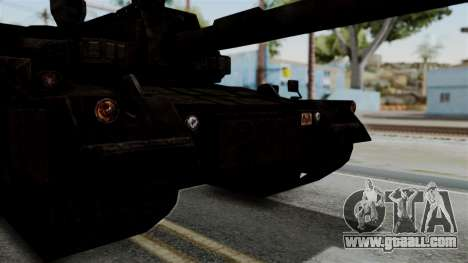 Point Blank Black Panther Rusty IVF for GTA San Andreas right view