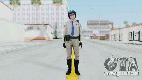 GTA 5 Cop-Biker for GTA San Andreas second screenshot