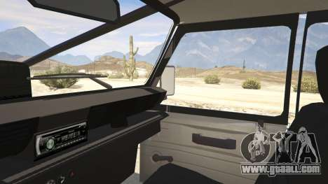 GTA 5 Land Rover 110 Pickup Armoured rear right side view
