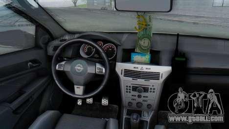 Opel-Vauxhall Astra Policia for GTA San Andreas