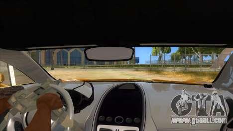 Aston Martine One-77 2010 Autovista for GTA San Andreas inner view
