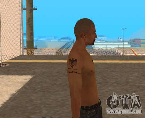Derek Vinyard: American history X for GTA San Andreas third screenshot