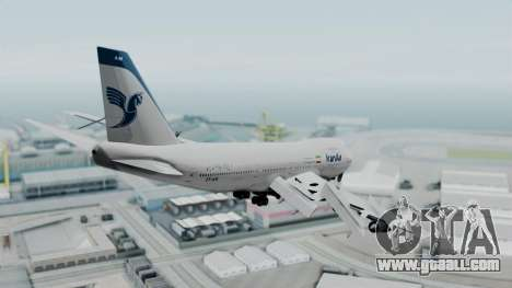 Boeing 747-186B Iran Air for GTA San Andreas right view