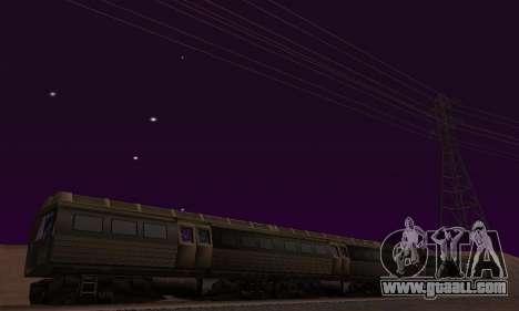 Batman Begins Monorail Train Vagon v1 for GTA San Andreas interior