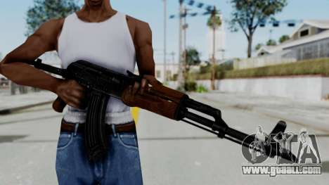 New HD AK-47 for GTA San Andreas third screenshot