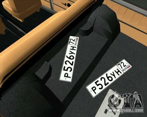 VAZ 2102 Combat Classics for GTA San Andreas right view