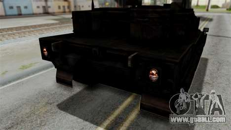 Point Blank Black Panther Rusty IVF for GTA San Andreas side view