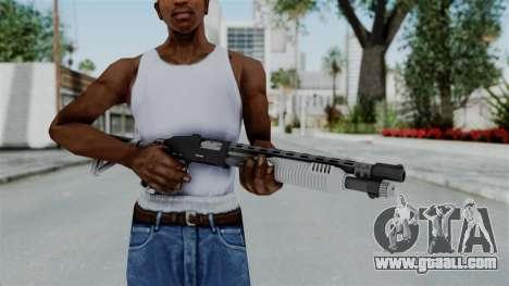 GTA 5 Pump Shotgun - Misterix 4 Weapons for GTA San Andreas third screenshot