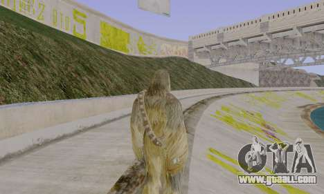 Chewbacca for GTA San Andreas third screenshot