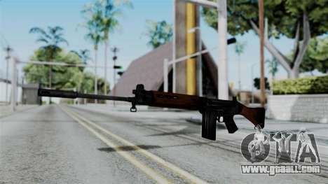 No More Room in Hell - FN FAL for GTA San Andreas second screenshot