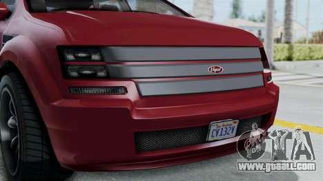 GTA 5 Vapid Radius IVF for GTA San Andreas inner view