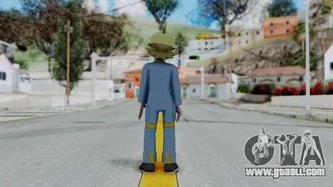 Pokémon XY Series, Clemont for GTA San Andreas third screenshot