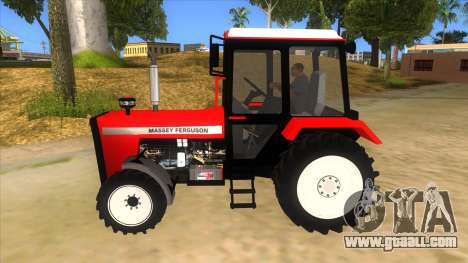 Massley Ferguson Tractor for GTA San Andreas left view