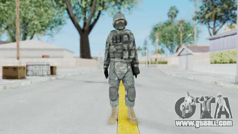 Acu Soldier 5 for GTA San Andreas second screenshot